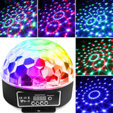 CR Lite LED Star Ball 6 X 3W Red Green Blue Purple Yellow White Effect Light IR Remote