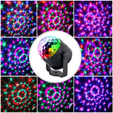 CR Lite Sound Activated Party Lights Control Disco Ball Party Decorations-3w Led Light