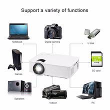 Load image into Gallery viewer, Portable 1080P 5000 Lumens HD LED Multimedia Projector Home Cinema Theater HDMI