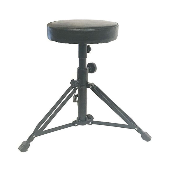 DL Universal Drum Throne Adjustable Padded Drum Stool with Anti-Slip Feet