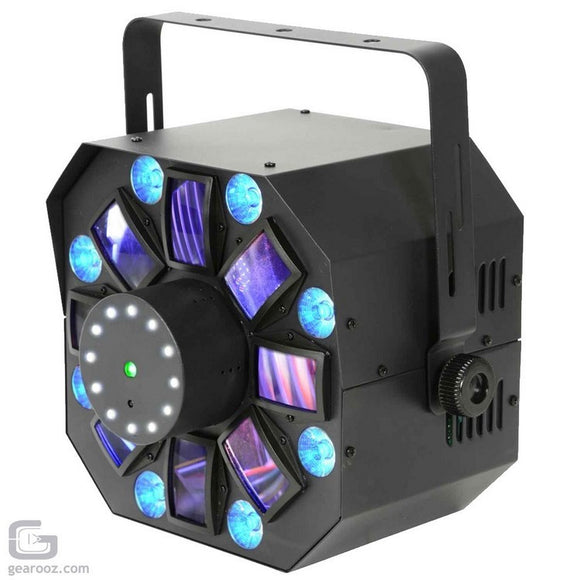 CR Lite Mixlaser II 4-in-1 LED Lighting Effect Swarm Strobes Laser Wash