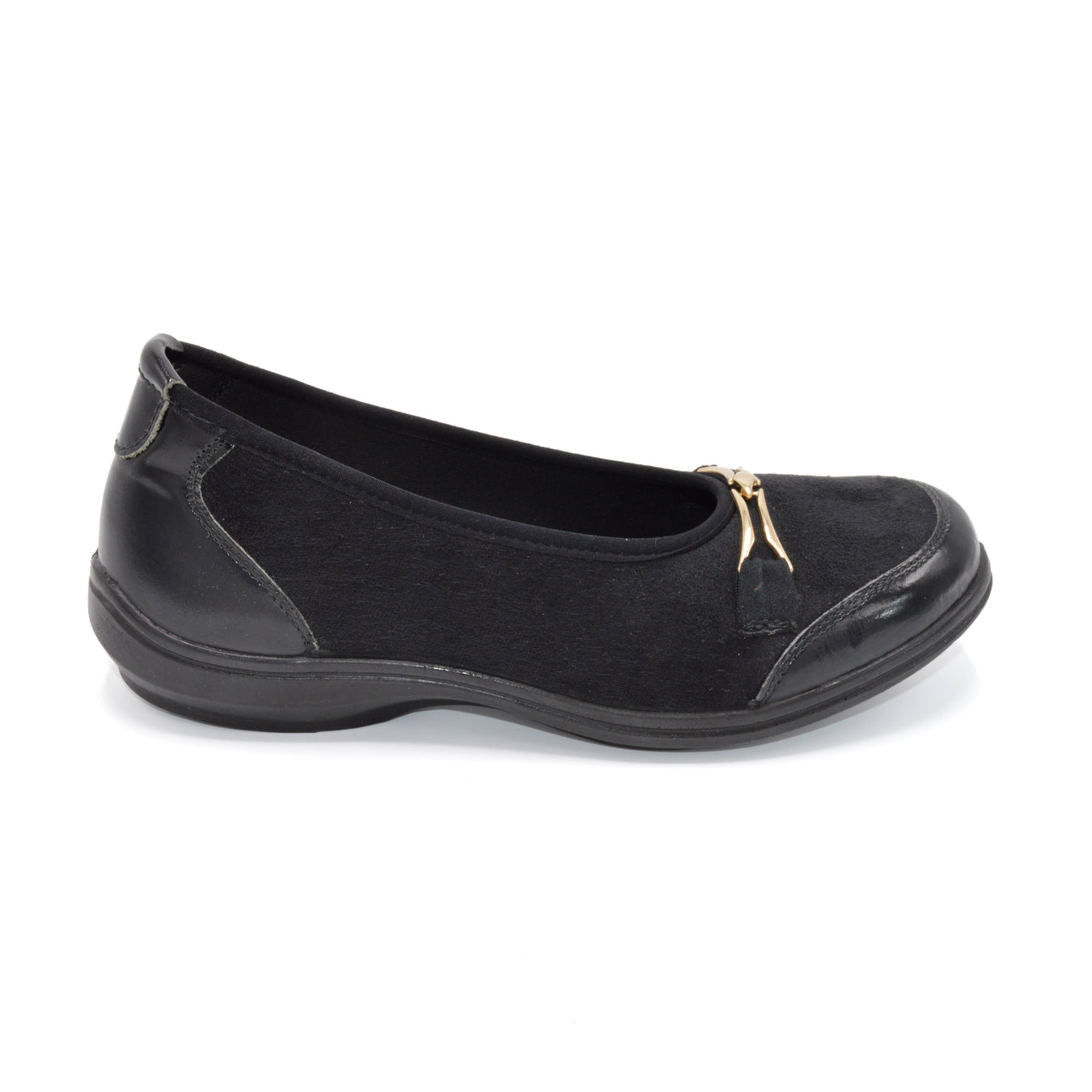 Ladies Wide Fitting Loafers and Ballet Pumps. DB Nailsea Extra Wide Fit