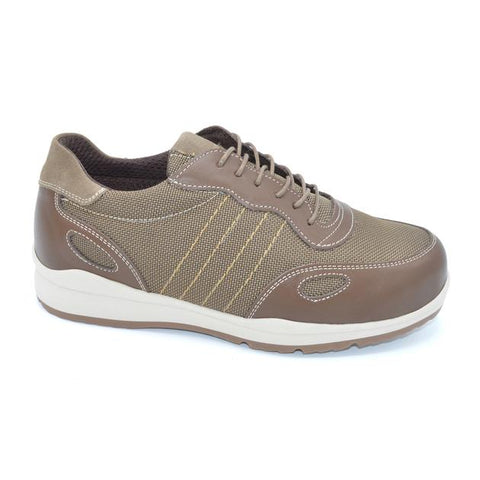 Dawson - Extra Wide Mens Trainer For Odema And Gout