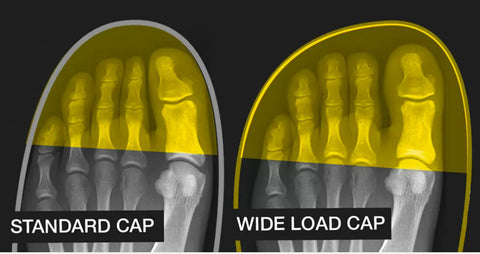 Extra Wide Steel Toe Cap For Wider Feet