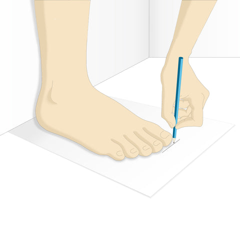 Find Out The Width Of Your Feet