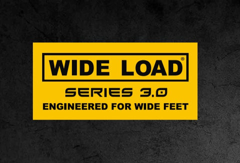 Wide Load Logo - Wide Fitting Work Boots