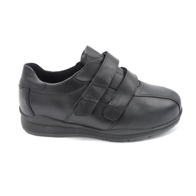 DB Mens Black Extra Wide Shoes