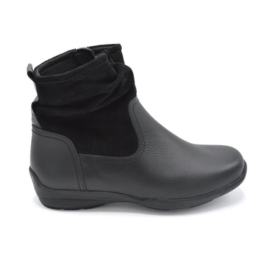 DB Wide Fitting Black Ankle Boot