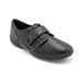 Black Womens Velcro Shoes For Large Bunions