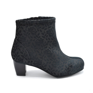 DB BlackLadies Wide Ankle Boot