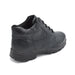 Mens Black Lace-Up Boot For Diabetes