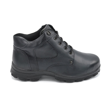 DB Black Leather Wide Fit Boots