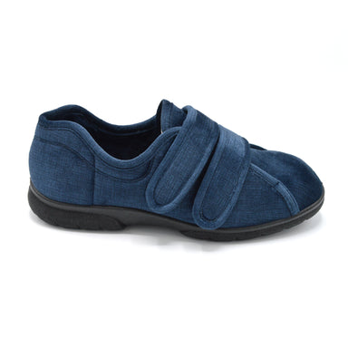DB Mens Navy Extra Wide House Shoe
