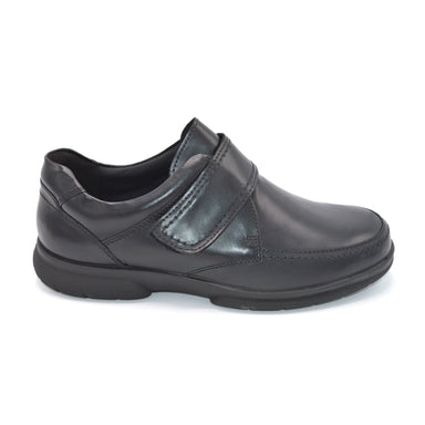 DB Mens Black Extra Wide Fit Shoes