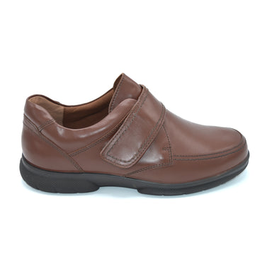 DB Mens Brown Wide Fitting Shoes