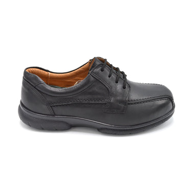 DB Black Extra Wide Fitting Lace-Up Shoe