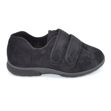 DB Men's Extra Wide Fit Velcro Slippers