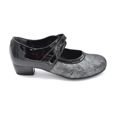 DB Wide Fit Heeled Ladies Court Shoe
