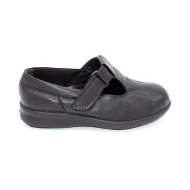 DB Black Ladies Wide Fit Walking Shoe