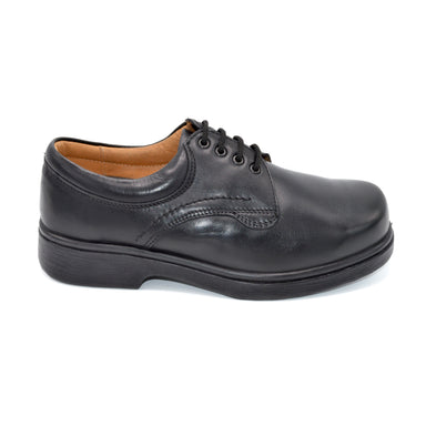 DB Black Extra Wide Fit Lace-Up Shoe