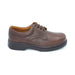 DB Brown Extra Wide Fit Lace-Up Shoe