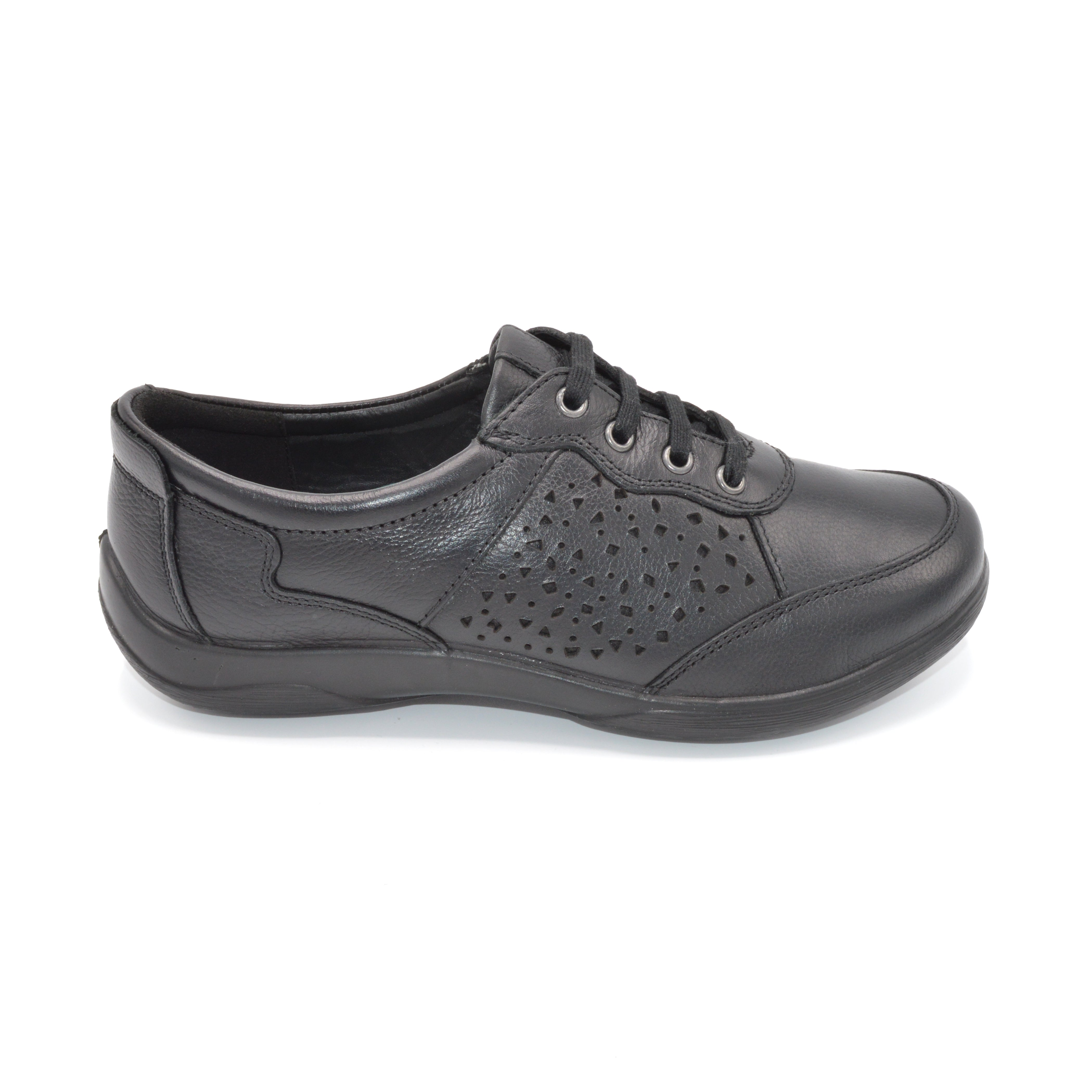 Padders Wide Fit Ladies Lace-Up Shoe