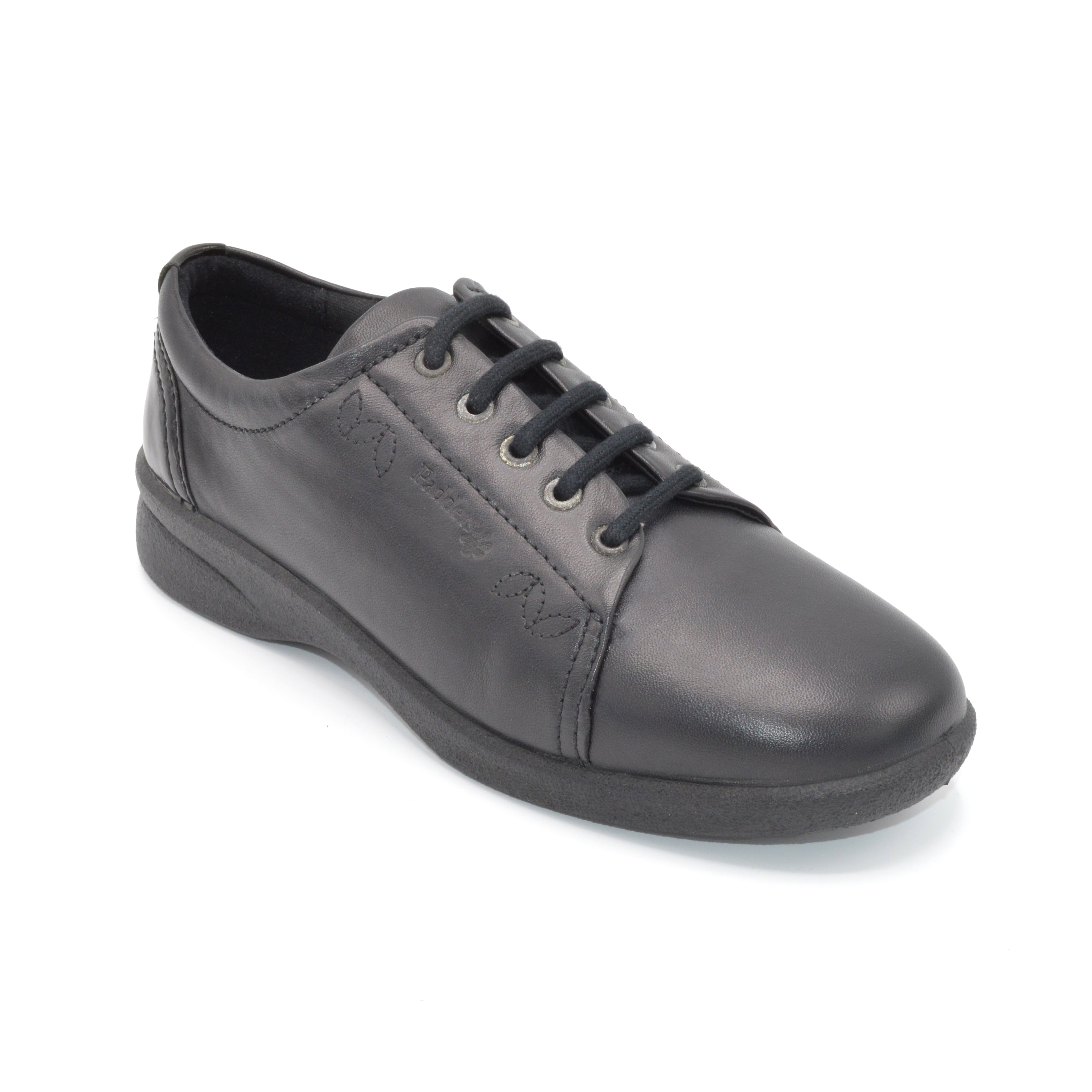 Comfortable Black Walking Shoe For Hammer Toes