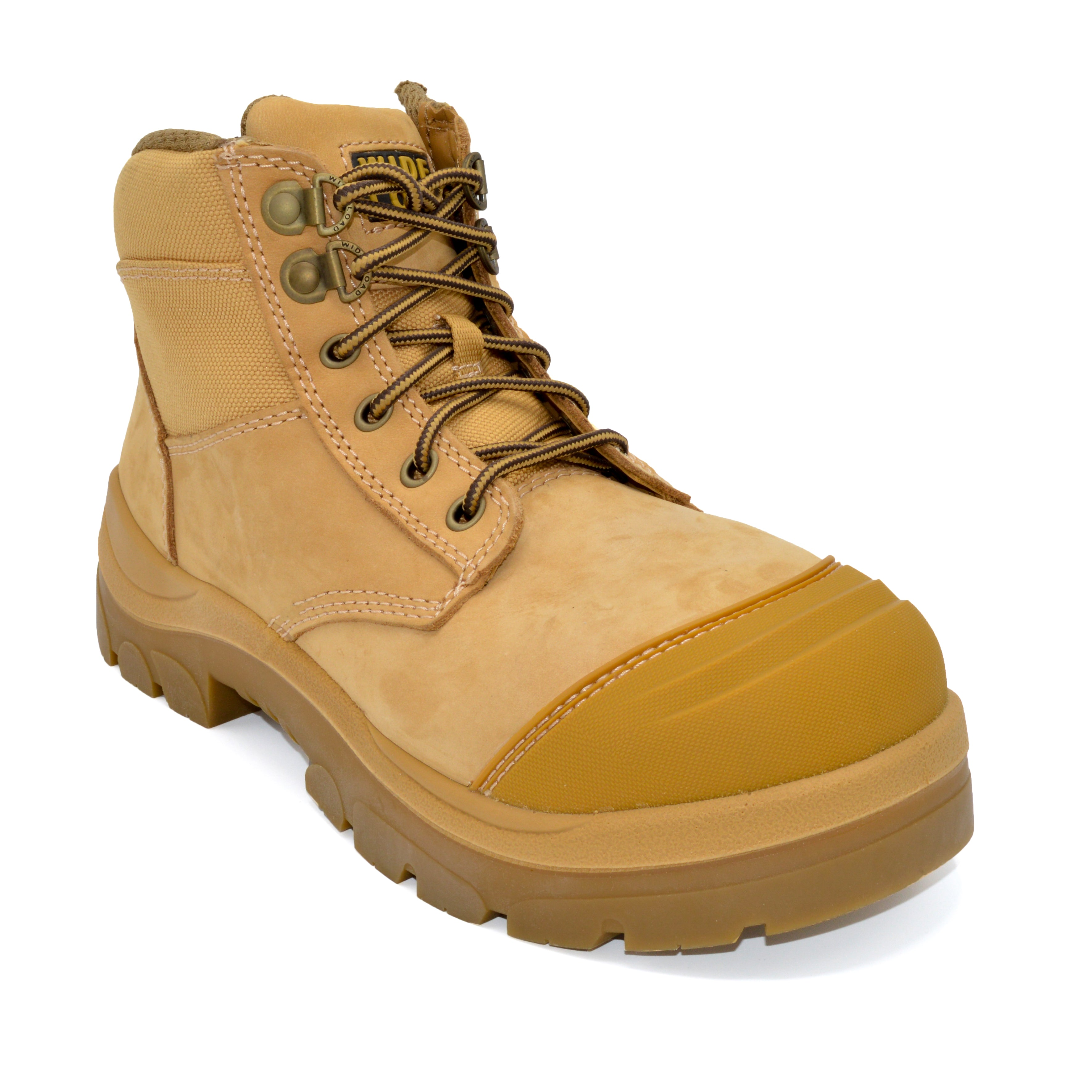 WideLoad 690WZ Wide Fit Safety Boot - Zip - Beige - 6E Fit