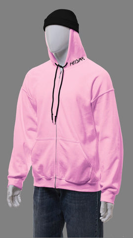 HEDJAK Standard Pink Zip Up
