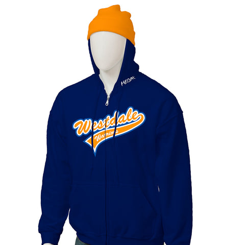 Westdale Warriors - Zip Up HEDJAK