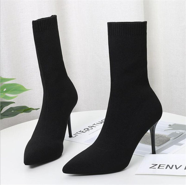 Sock Boots - Boujee Boutique Incorporated