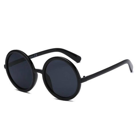INDIANA | S1074 - Women Round Oversize Sunglasses - Boujee Boutique Incorporated