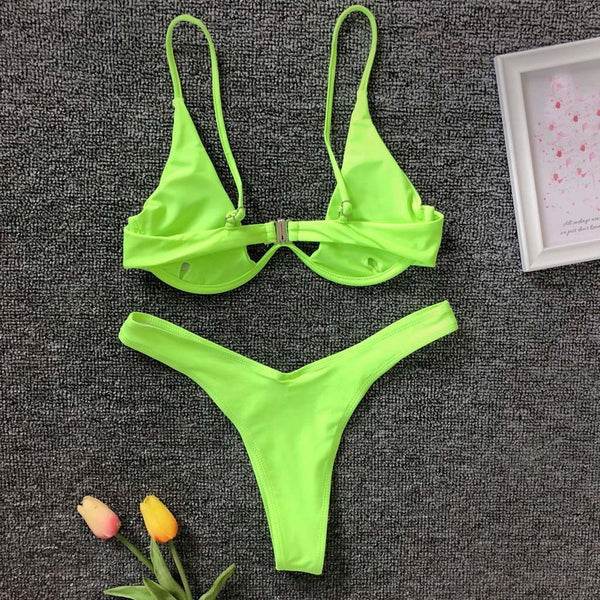 Low Waist Bikini - Boujee Boutique Incorporated