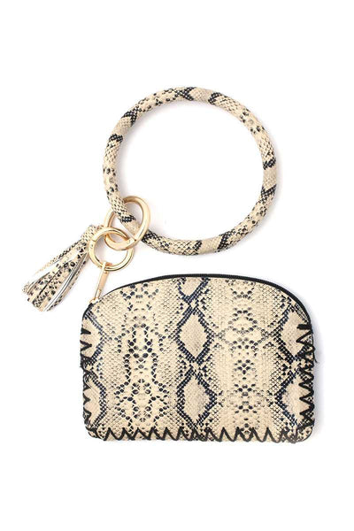 Python Pattern Pouch - Boujee Boutique Incorporated