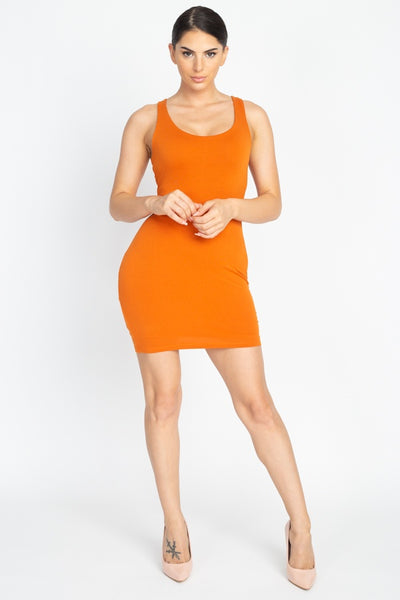 Sleeveless Basic Dress - Boujee Boutique Incorporated
