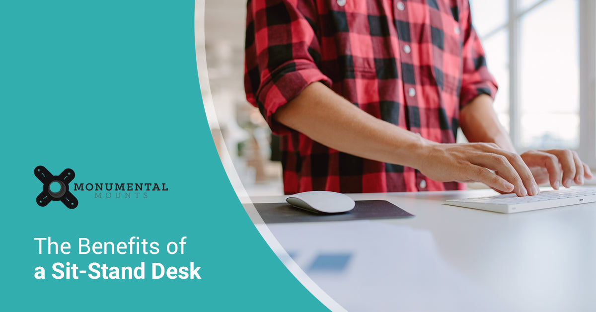 The Benefits of a Sit Stand Desk