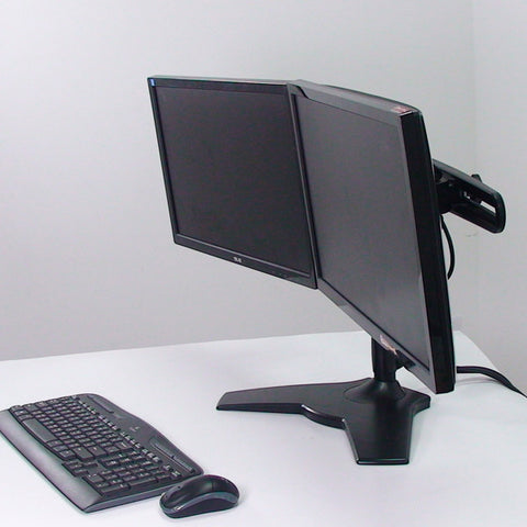 The Heavy Duty Dual Monitor Stand Mount