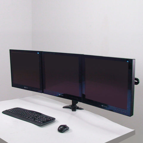 The Triple Monitor Clamp Mount
