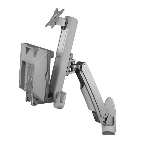 Sit Stand Combo Workstation Wall Mount System Amr1aws