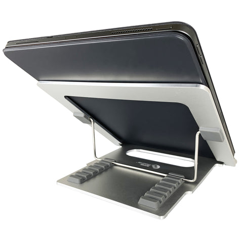 Foldable Laptop Tablet Stand (2 PACK) | Amer Mounts AMRNS01