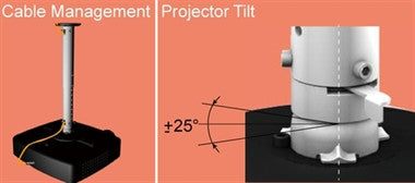 The Classic Projector Hanger Heavy Duty - AMRP145H