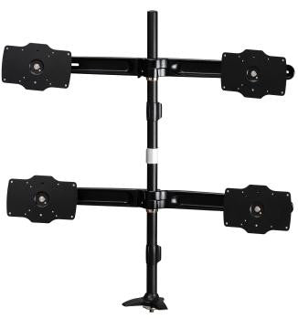 Quad Mount Max 32″ Displays (Grommet Style)