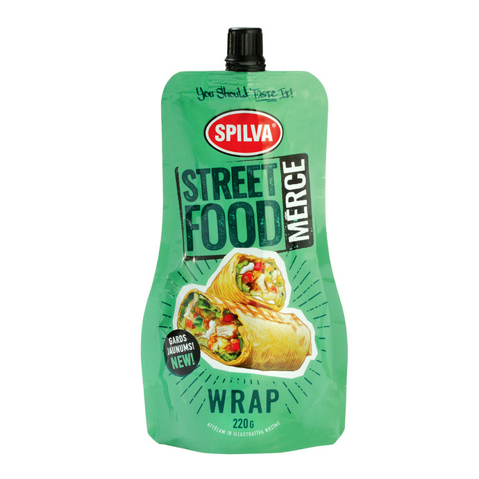 Street food wrap mērce, 220g