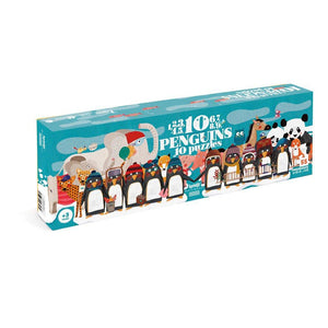 Puzzle .... 10 penguins-Nook & Cranny Gift Store-2019 National Gift Store Of The Year-Ireland-Gift Shop
