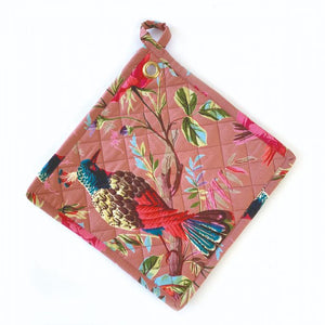 Kitchen Trivet / Potholder - Paradise Pink-Nook & Cranny Gift Store-2019 National Gift Store Of The Year-Ireland-Gift Shop
