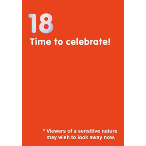 18th Birthday Card-Nook and Cranny - 2019 REI National Gift Store of the Year