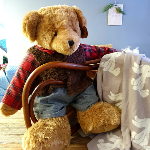 Doan Plush Luxury Teddy Bear - 80 cms tall-Nook & Cranny Gift Store-2019 National Gift Store Of The Year-Ireland-Gift Shop