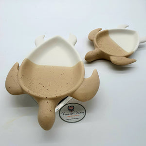 Earthenware dipped turtle dish - (Companion set of 2)-Nook & Cranny Gift Store-2019 National Gift Store Of The Year-Ireland-Gift Shop