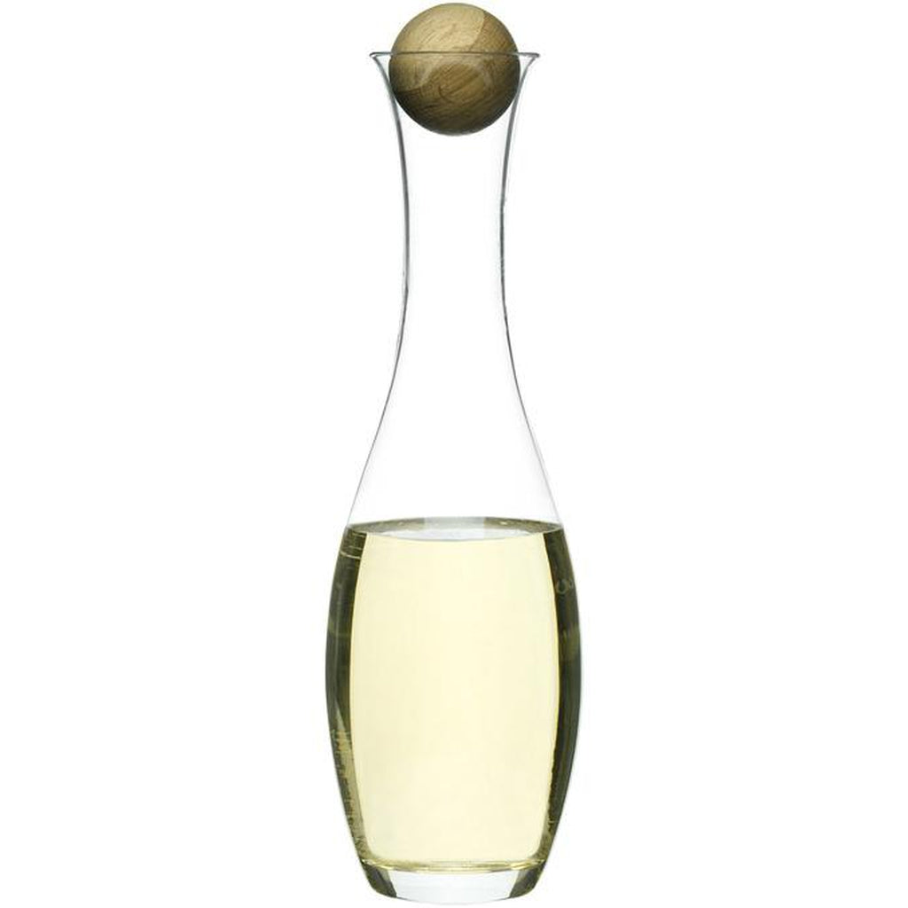 Wine/Water Carafe with oak stopper-Nook & Cranny Gift Store-2019 National Gift Store Of The Year-Ireland-Gift Shop