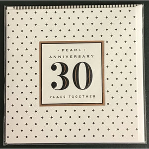 30th Anniversary (Pearl)- Card-Nook and Cranny - 2019 REI National Gift Store of the Year